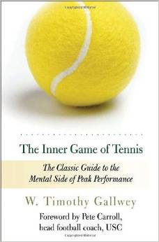 Inner game of tennis book cover